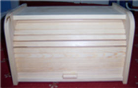 Photo of a closed Breadbin