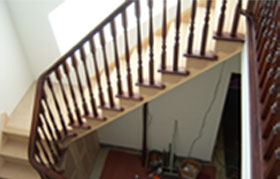 Photo of a Handrail and Staircase